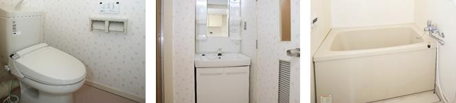 トイレ(ウォシュレット)・洗面・浴室独立